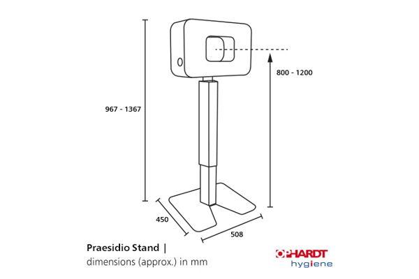 PRAESIDIO 1421051 PRAESIDIO Column (stand only)