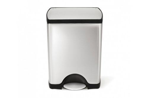 simplehuman RETANGULAR classic afvalbak 30 liter