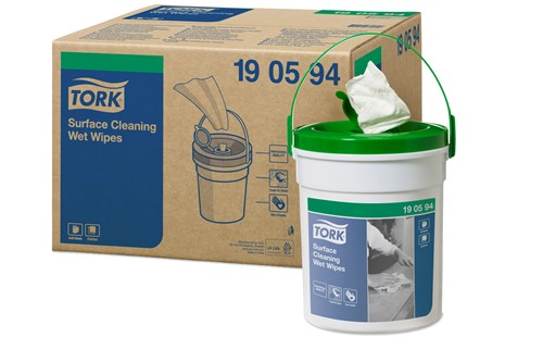 Tork 190594,PREMIUM W14 Wet Wipes 4x58 pcs