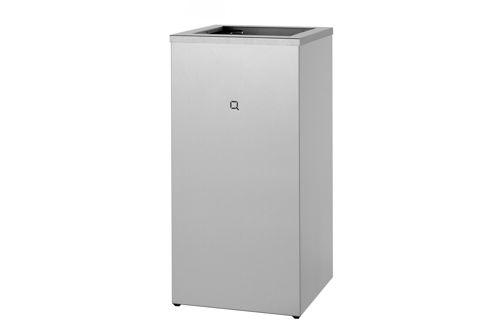Qbic QWB085 SSL open afvalbak 85 liter