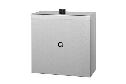 Qbic QWBC9 SSL gesloten afvalbak 9 liter