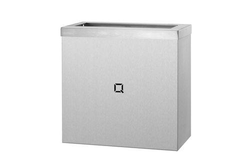 Qbic QWB09 SSL open afvalbak 9 liter