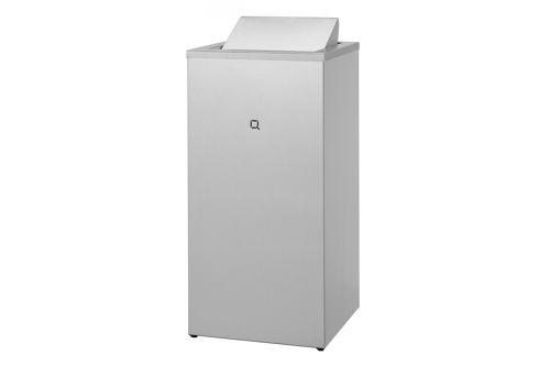 Qbic QWBC85 SSL afvalbak met swingdeksel 85 liter