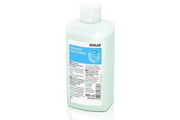 Ecolab SKINMAN SOFT PROTECT handdesinfectie 1x500 ml.