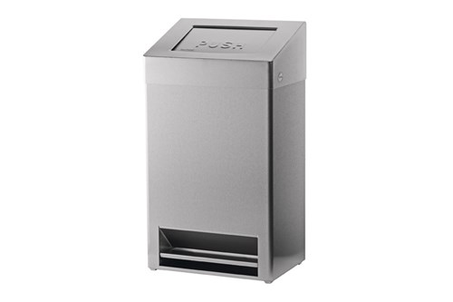 SanTRAL by OPHARDT FBU 40 E AFP Waste Bin With Foot Pedal 40 l