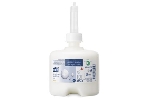 Tork 420202,PREMIUM S2 hand & body lotion 8x475 ml.
