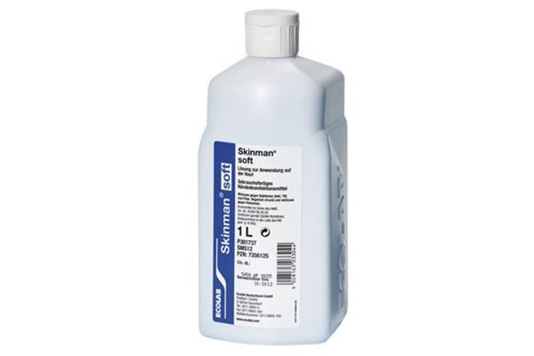 Ecolab SOFT PROTECT Hand Disinfectant 1x1000 ml