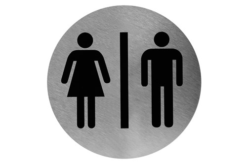 Mediclinics PS0001CS Pictogram Men/Woman