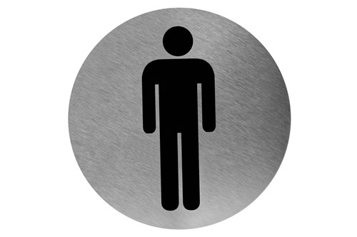 Mediclinics PS0003CS pictogram man plakbaar