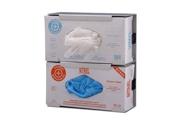 Držák na rukavice (2 krabice), nerez