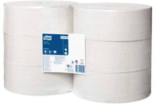 Tork 120160,UNIVERSAL T1 Jumbo Toilet Roll, 1-ply, 6x480m