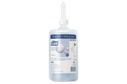 Tork 420601,PREMIUM S1 Hair & Body 6x1000 ml.