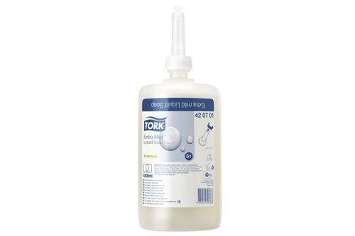 Tork 420701,PREMIUM S1 extra milde handzeep 6x1000 ml.