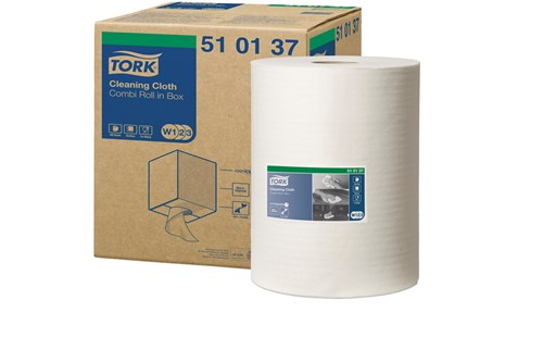 Tork 510137,PREMIUM W1/W2/W3 Cleaning Cloth, 1x152m