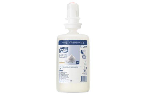 TORK 520701,S4 milde foamzeep 6x1000 ml.