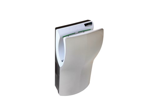 PlastiQ PQ14ACS,TWINFLOW Hand Dryer - Satin