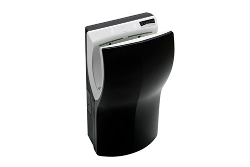 PlastiQline PQ14AZ,TWINFLOW Hand Dryer - Black
