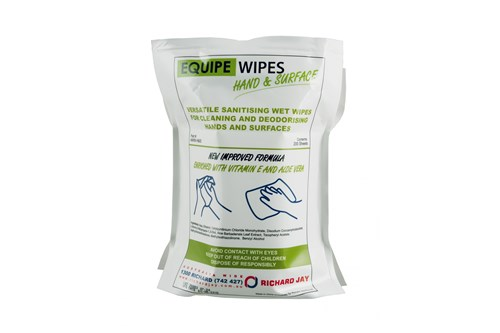 PlastiQ PQEQUIPE Refill Wet wipe hand & surface
