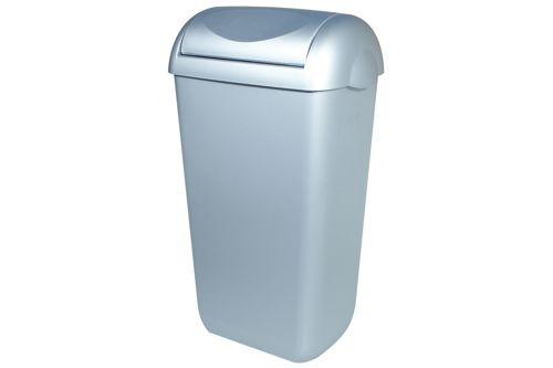 PlastiQ PQSA23M afvalbak met swingdeksel 23 liter