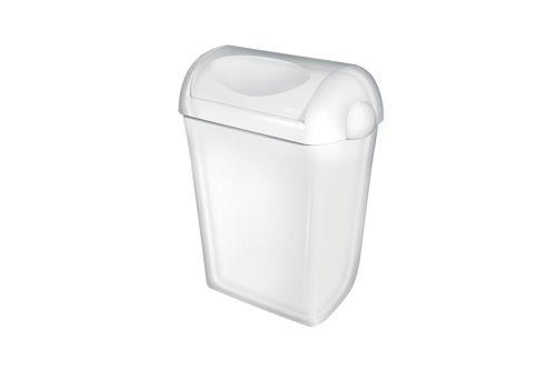 PlastiQ PQSA23 afvalbak met swingdeksel 23 liter