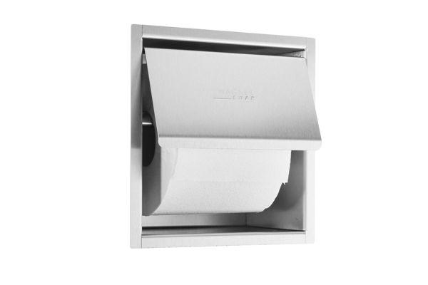 Wagner EWAR WP 157,A-LINE inbouw toiletrolhouder met klep