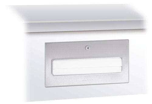 Wagner EWAR WP 170,A-LINE inbouw ZZ handdoekdispenser met lade