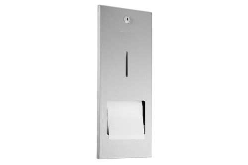 Wagner EWAR WP167,A-LINE Recessed Toilet Tissue Dispenser