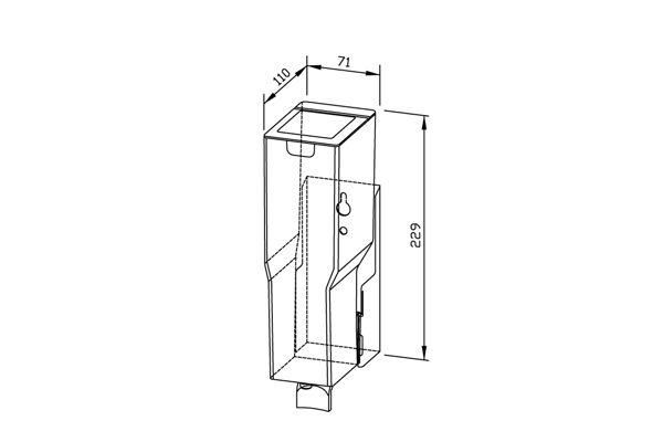 Wagner EWAR Disinfectant Dispenser 950 ml