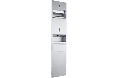 Wagner EWAR WP 500-5,A-LINE Combination Paper/Foam soap/Waste bin