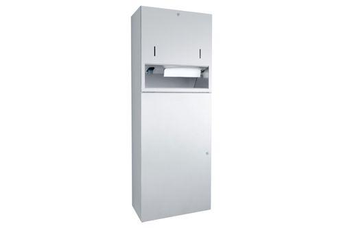 Wagner EWAR WP 5425,A-LINE Combination Soap/Paper/Waste bin