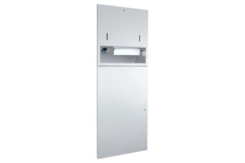 Wagner EWAR WP 5420,A-LINE Combination Soap/Paper/Waste bin