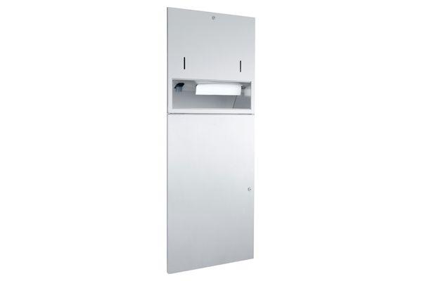 Wagner EWAR WP 5420,A-LINE inbouw combinatie zeep/ZZ papier/afval