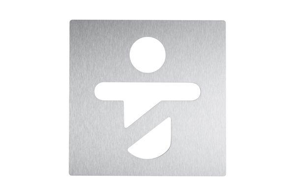 Wagner EWAR AC 420 pictogram kind plakbaar