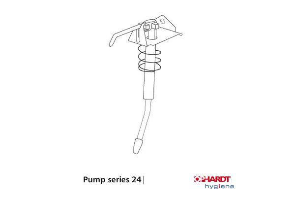 ingo-man plus IMP 24 SERIE standaard pomp voor 1000 ml dispensers