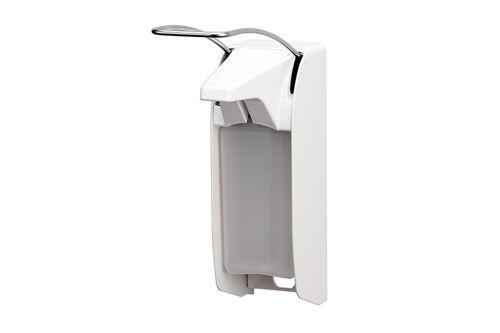 ingo-man plus Dávkovač mýdla a dezinfekce 500 ml, dlouhá páčka, hliník