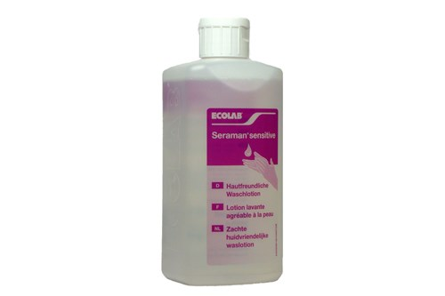 Ecolab SERAMAN SENSITIVE zachte waslotion 1x500 ml.