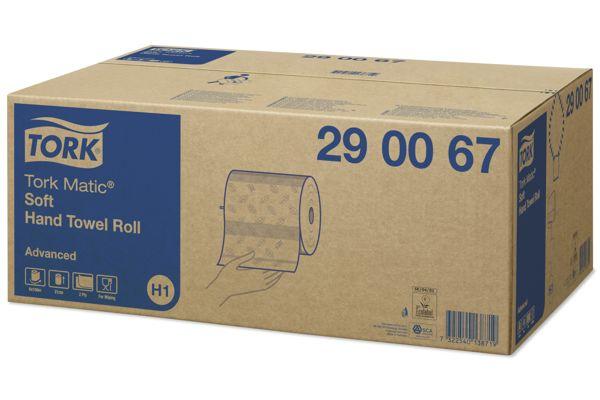 Tork 290067,ADVANCED H1 Matic handdoekrollen 6x150m