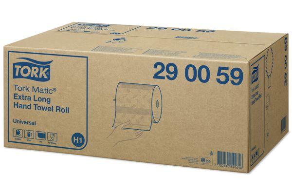 Tork 290059,UNIVERSAL H1 Matic handdoekrollen 6x280m