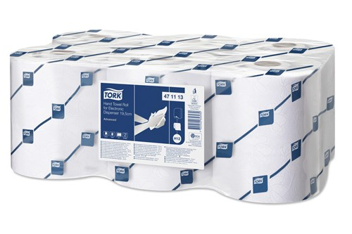 Tork 471113,ADVANCED H12 Hand Towel Rolls, 6x143m