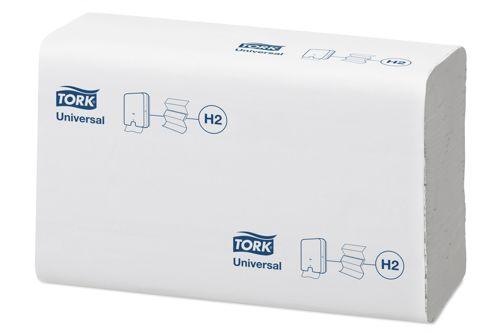 Tork 150299,UNIVERSAL H2 Soft Multifold hand towels, 20x237pcs
