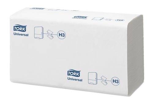 Tork 290158,UNIVERSAL H3 ZZ Hand Towels,1-ply,15x300pcs