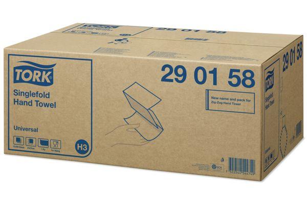Tork 290158,H3 Universal ZZ handdoeken 15x300 vel