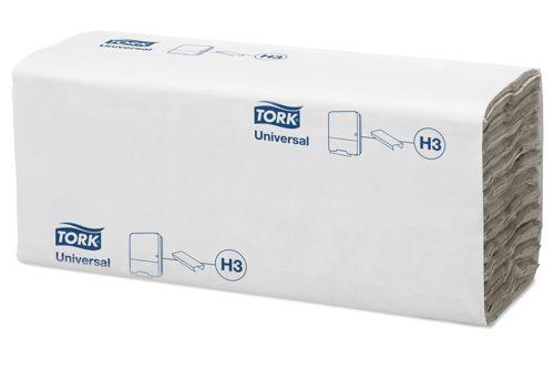 Tork 120181,UNIVERSAL H3 C-fold Hand Towels, 1-ply, 24x192pcs