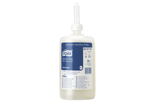 Tork 620701,UNIVERSAL S11 sprayzeep 6x1000 ml.