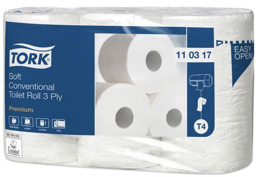 Tork 110317,T4 Premium toiletrollen 42x248 vel