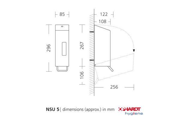SanTRAL® Classic Spray Dispenser For Disinfection 600 ml