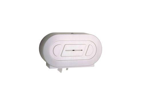 Bobrick B-2892,CLASSIC Twin Jumbo-Roll Toilet Tissue Dispenser