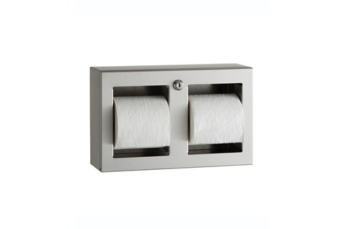 Bobrick B-3588,TRIMLINE toiletroldispenser