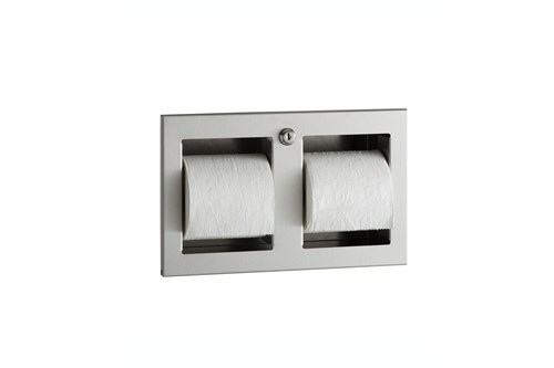 Bobrick B-35883,TRIMLINE Recessed Toilet Tissue Dispenser