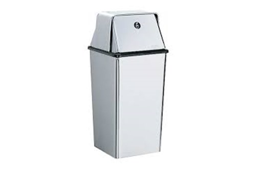 Bobrick B-2250 Waste Bin With Top 49 liter